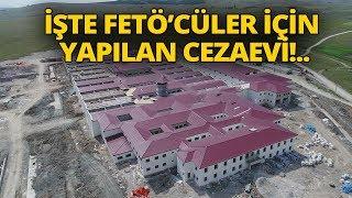 Kütahya'da FETÖ'cüler İçin Yapılan Cezaevi Havadan Görüntülendi