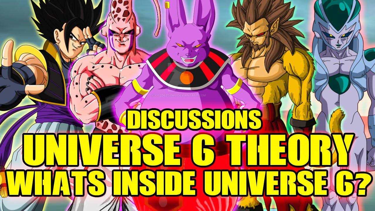 Dragon Ball Super Whats Inside Universe 6 Discussion