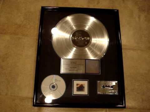 "STING - ""SOUL CAGES"" RIAA GOLD AWARD FOR SALE -SOLD"