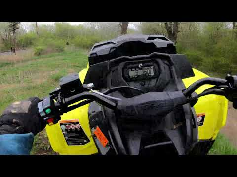 First Ride With The 2019 Can-Am Outlander L 570 XMR! Ft. Rob Sanders