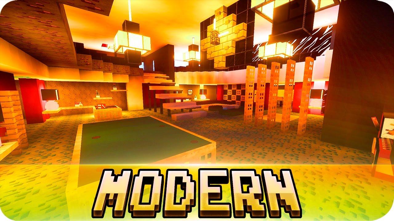 Minecraft - Large MODERN House Design - Cinematic & Map Download by  JerenVids