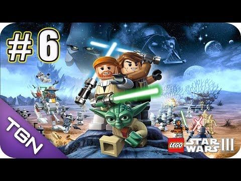 Lego Star Wars 3 The Clone Wars - Gameplay Español - Capitulo 6 - HD 720p