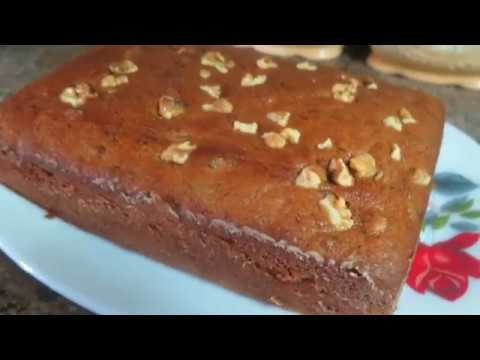VERY MOIST BANANA WALNUT CAKE!!