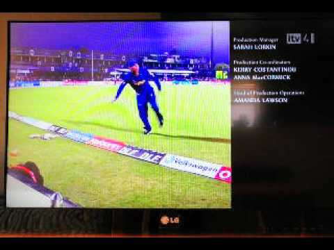 End credits of IPL 5 on ITV4