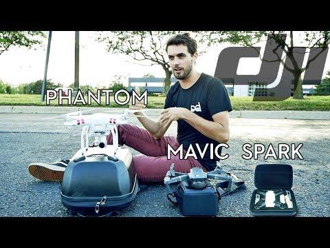 SPARK vs MAVIC vs PHANTOM : which gets in the air faster??