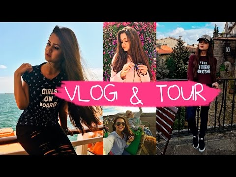 VLOG: Tour pelo Navio, andando de Camelo, Portugal e Santiago