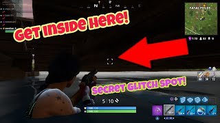 Fortnite battle Royale glitches (New) Best hiding spot PS4/Xbox one 2018