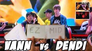 VanN vs Dendi  - 1v1 Solo Mid (Full game) - MasGamers X