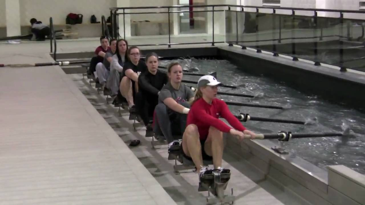 Moving Water Rowing Tank Hd Youtube