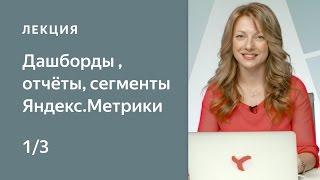 Як налаштувати Метрику: дашборды, звіти, сегменти - частина 1. Курс по Яндекс.Метриці для початківців