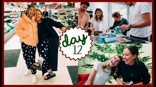 GIFT GIVING & PIZZA MAKING | VLOGMAS