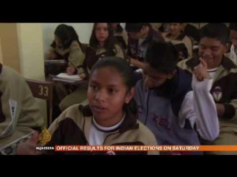 Mexico's broken down schools 15 May 09