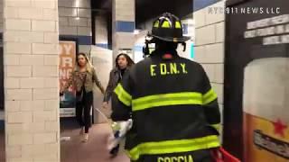 FDNY Manhattan: Rescue of Man Under Train