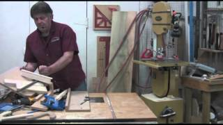 Part 23: Corner Cabinet Series From Mastering Woodworking With Charles Neil