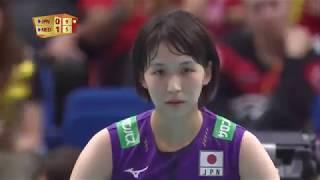 古賀紗理那 Sarina Koga Japan vs Netherlands 2018 FIVB World Championship