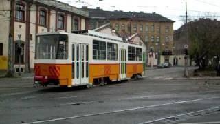 Tatra tram of learner driver