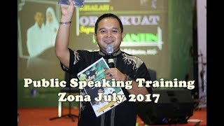 Public Speaking Training   Zona July 2017