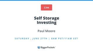 Crisis Investing 101: Self Storage