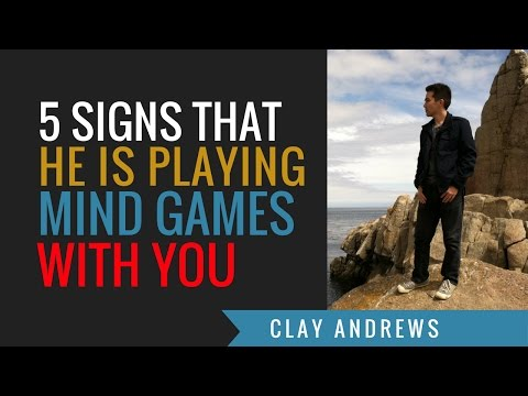 Five Signs that He's Playing Mind Games With You
