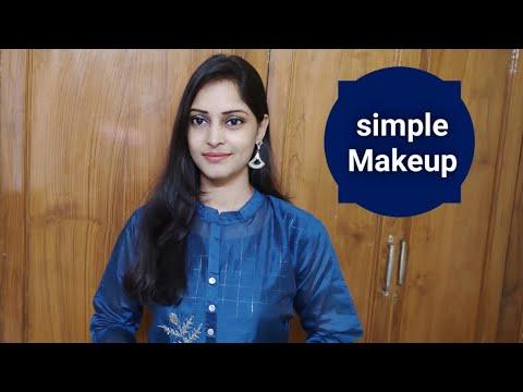 Download Birthday Simple Makeup   My simple Makeup in telugu   Easy Makeup in telugu   Makeup looks