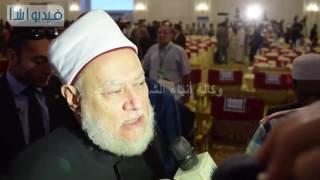 بالفيديو : علي جمعة : عملية التغيب والانتقاء تهدف لتغيير ابجدية الاسلام
