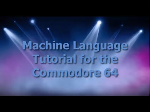 C64 Machine Language Tutorial Part 1 - Commodore 64 Brain