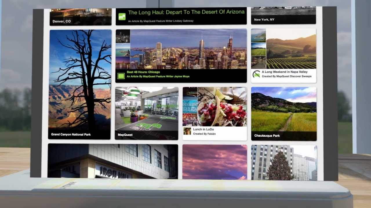 Mapquest Arizona.Aol S Mapquest Launches Discover A Social Discovery Platform For