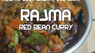 Red Bean Curry Recipe - Vegan Rajma Indian Video