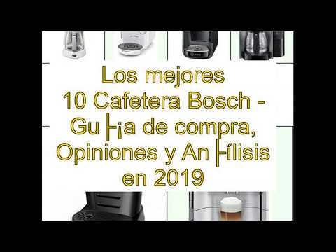 pl/ástico Bosch de Cafetera Goteo Tka3a031 Blanco 1100 W 59 Cups