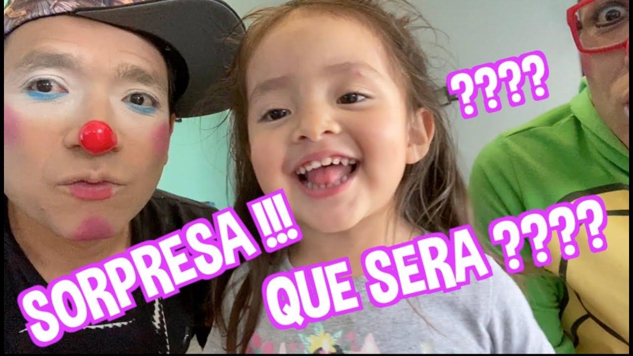 CAELI RECIBE UNA SORPRESA / QUE SERA ??? / DESCUBRELA / FATIMA Y CAELI / LOS DESTRAMPADOS