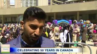 CityNews: Ahmadiyya Muslims celebrate 50 years in Canada