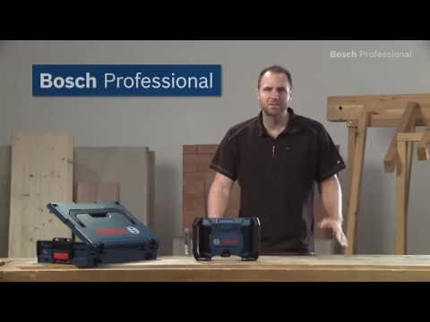 Radio de chantier bosch gml 10 8v guedo outillage youtube - Radio de chantier bosch ...
