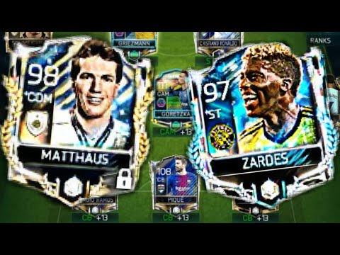 Fifa Mobile OMG!! I Got 97 Zardes And 98 Prime Icon