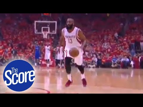 f34164bb2a8a The Score  Adidas warns James Harden for wearing Nike shoes - YouTube