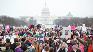 Highlights from the Women's March on Washington