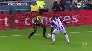 DENZEL DUMFRIES - PSV Eindhoven - Heerenveen - Crazy Defensive Skills, Goals & Assist - 2017-2018