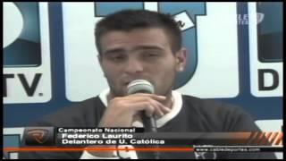 Federico Laurito, delantero de U. Católica
