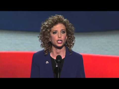 Debbie Wasserman Schultz at the 2012 Democratic National Convention