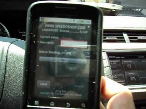 OBD II Android, digital odometer calibration tool Jprog ...