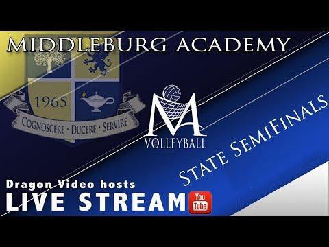 Middleburg Academy Girls Varsity Volleyball State Semifinals