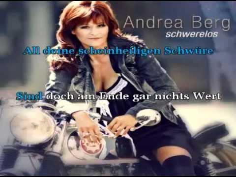 Andrea Berg - Du kannst noch nicht mal richtig lügen (mit Text).flv