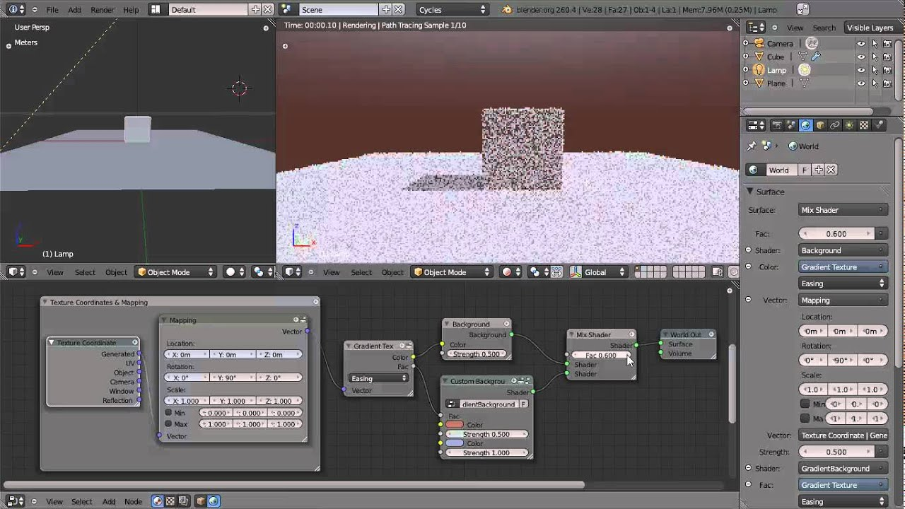 Background image blender - Blender Cycles Tech Demo Background Shader Nodes Example 1 Youtube