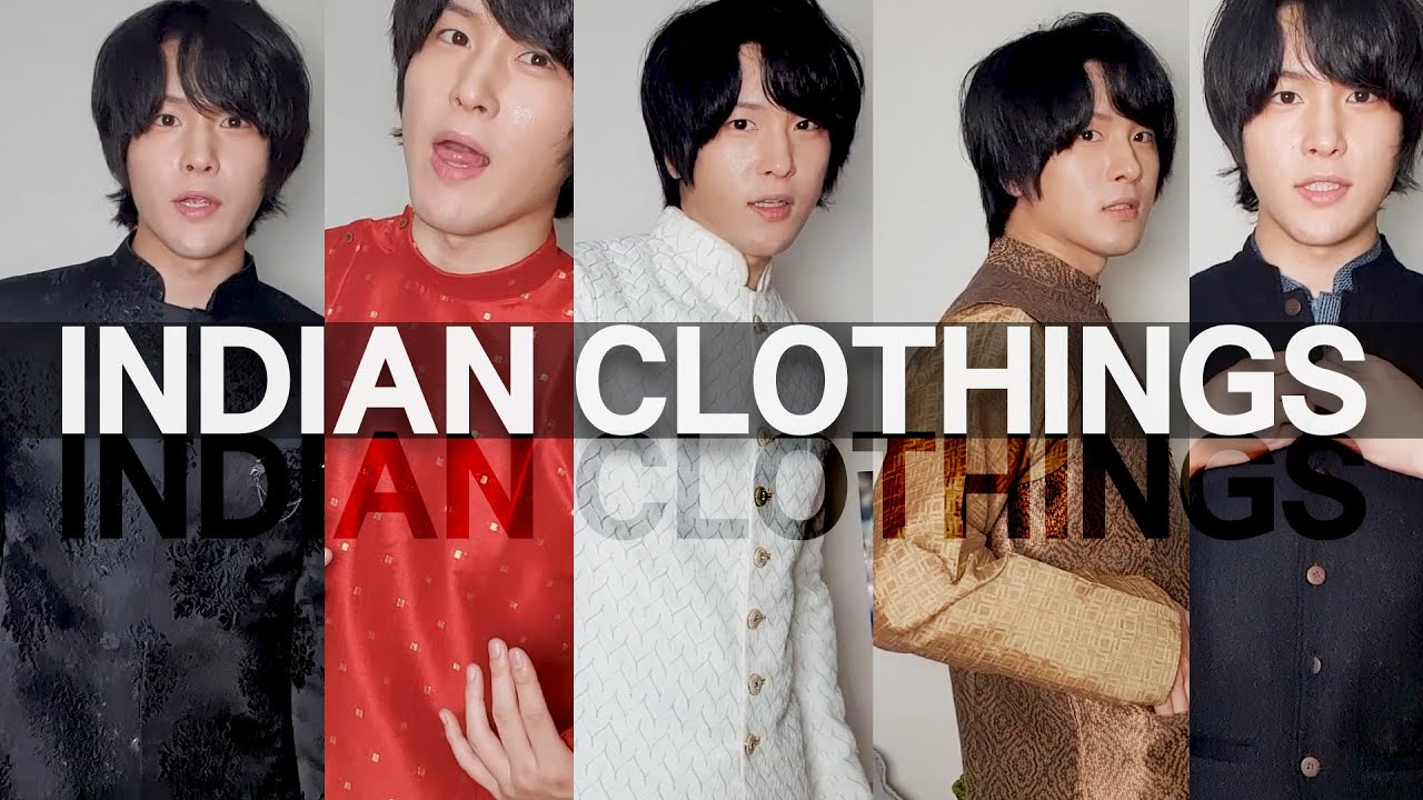 Koreans Trying Various Indian Clothing   Indian Clothes Reaction
