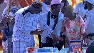 Full Video - Shatta Wale Birthday Party - Fella, Medikal, Hajia4Real Others Cut Cake