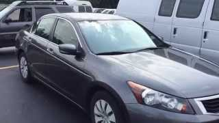 2008 honda accord lx quick tour overview