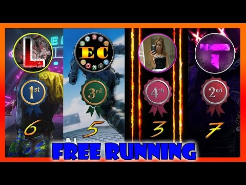 YOUTUBERS CHALLENGE COMPLETED   FREE RUNNING ALL 4 MAPS   SHOWING MY BEST STRATS