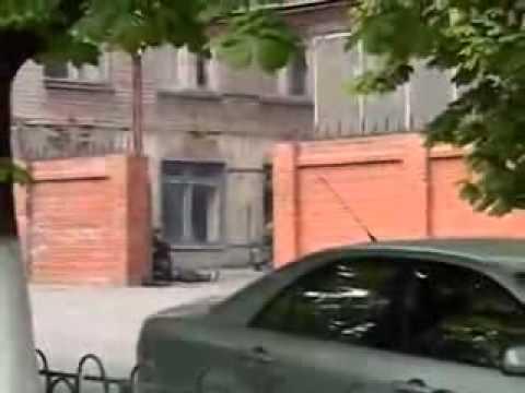 Мариуполь. Расстрел нацгвардией горотдела милиции 9 мая 2014