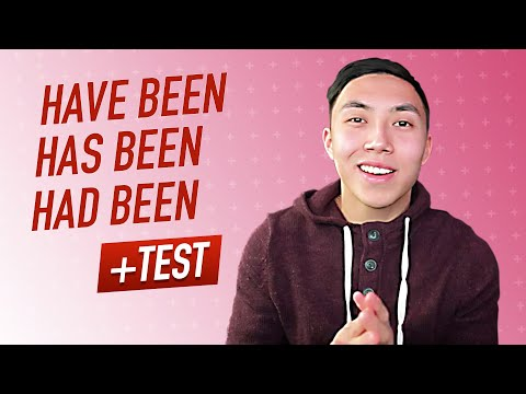 HAVE BEEN/ HAS BEEN/ HAD BEEN - English Grammar Lesson