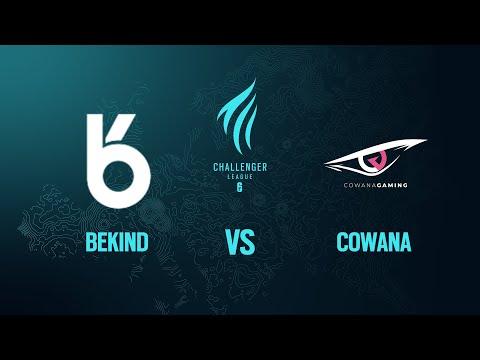 Bekind vs Cowana // Rainbow Six European  Challenger League 2020 - Group phase - Playday #4