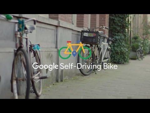 GOOGLE APRIL FOOL PRANK - Introducing the self-driving bicycle !